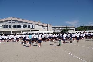 安文 安来高校体育祭参加