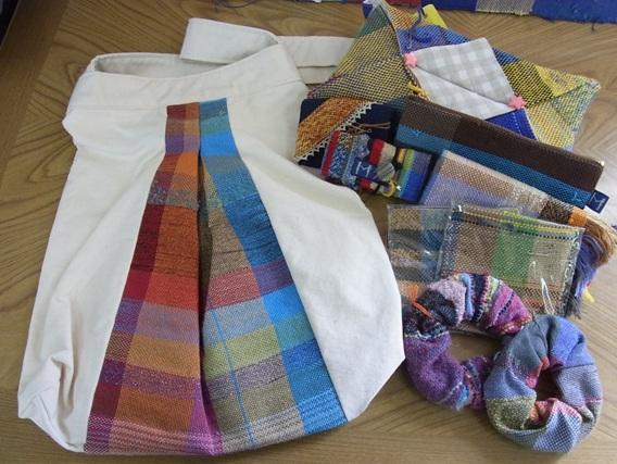 機織班の作品