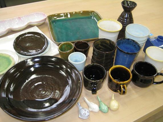 窯陶班の作品