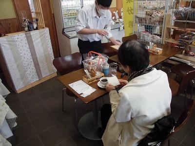 喫茶店の様子