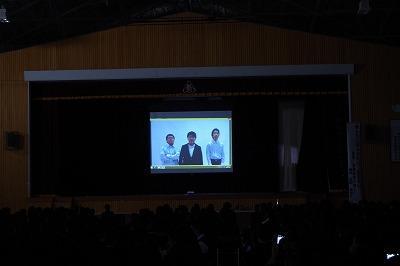 安来高校文化祭 安分の発表