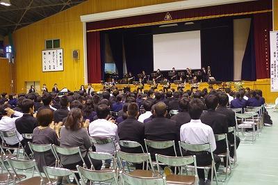 安来高校文化祭 吹奏楽部鑑賞