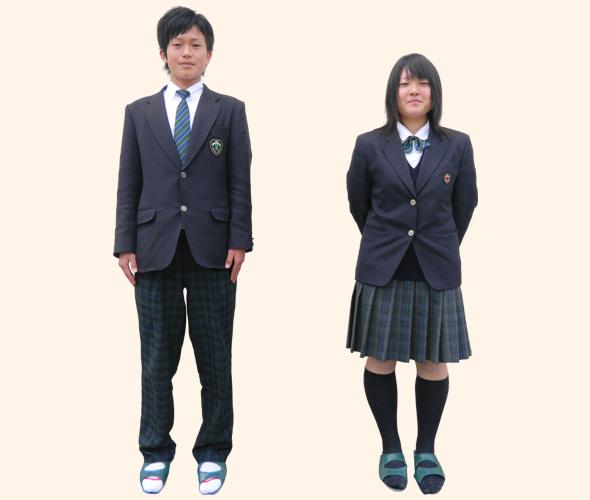 吉賀高等学校制服画像